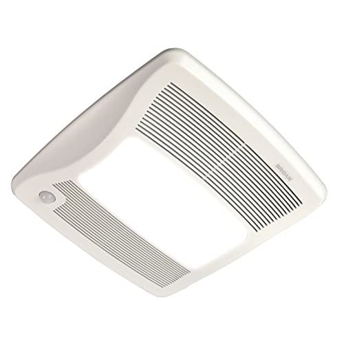 "lovely Broan ZB80ML Ultra Series Multi-Speed Motion Sensing Ventilation Fan/Light, 80 CFM, 6"" or 4"" Duct"