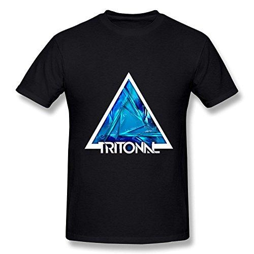 WunoD Men's Tritonal Band T-shirt Size XL (Reed Bree)