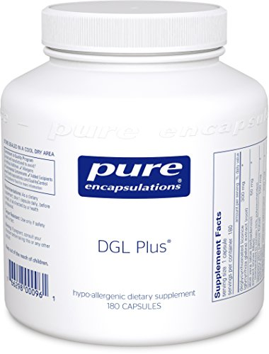 Pure Encapsulations - DGL Plus - Herbal Support for the Gastrointestinal Tract* - 180 Capsules by Pure Encapsulations