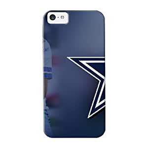 Fashion Kkuhqu-3289-kquvdla Case Cover Series For Iphone 5c(dallas Cowboys Nfl Team Logo)
