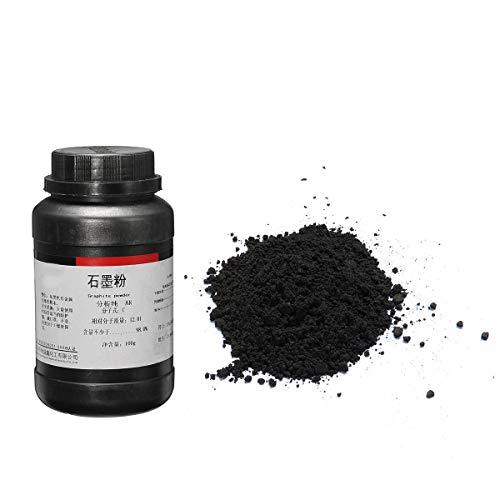 100g 5 Micron Black Graphite Powder for Latches Hinge Sliding Surface Lock - Tools, Industrial & Scientific Hardware & Accessories - 100g x Graphite Powder