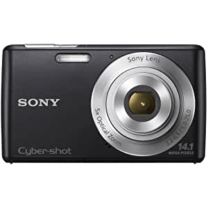 Sony Cyber-shot DSC-W620 14.1 MP Digital Camera with 5x Optical Zoom and 2.7-Inch LCD (Black) (2012 Model)