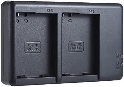 Bulufree FB EN-EL14 Cargador de batería para cámara Entrada Micro ...