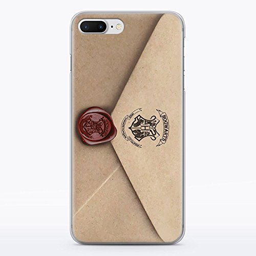 Potter Cell Harry Phone - Letter of Acceptance iPhone 7 Plus and iPhone 8 Plus Hard Plastic Case Hedwig Owl Hogwarts Letter Harry Potter Durable Potective Shell Cover for iPhone 7 Plus and iPhone 8 Plus Fandom MA1321