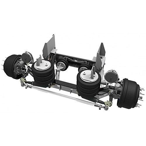 LINK Manufacturing LTD - 20,000 Lb Link Mfg Steerable Lift Axle Air Control Kit Truck Mount Hub Pilot