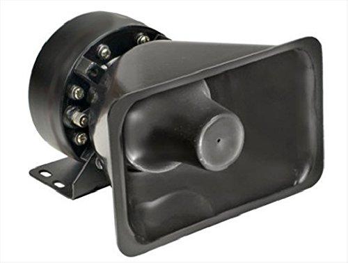 Viking Horns V915 100W Loud Alarm Siren/Pa/Public Address Speaker Black