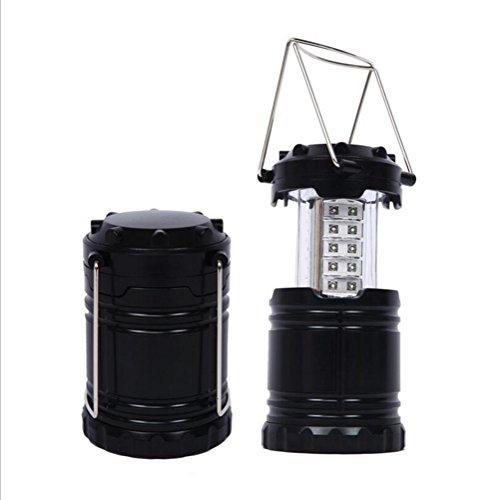 Lumière extérieure 30LED de secours de lumière de camping léger s'allongeant la lumière campante légère de camp de lumière de camp de poney, lanterne