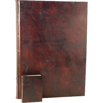 Epica presents: THE WORLDS 2ND LARGEST LEATHER JOURNAL. Handmade in Italy and measuring 15x30 inches with over 750 acid free archival writing or drawing pages. by Epica