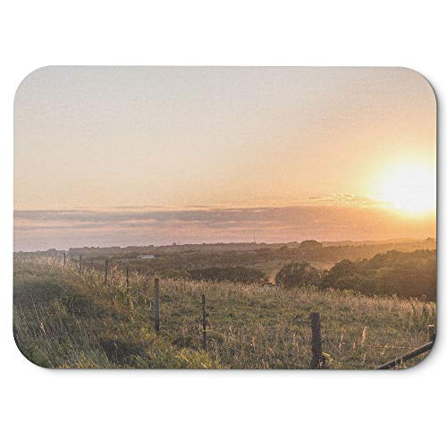 Westlake Art   Sky Dawn   Mouse Pad   Non Slip Rubber Picture Photography Home Office Computer Laptop Pc Mac   8X9 Inch  D41d8