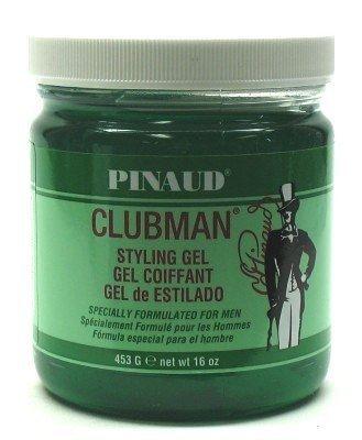 Gel style Clubman pour les hommes 16 oz Jar (pack de 8)