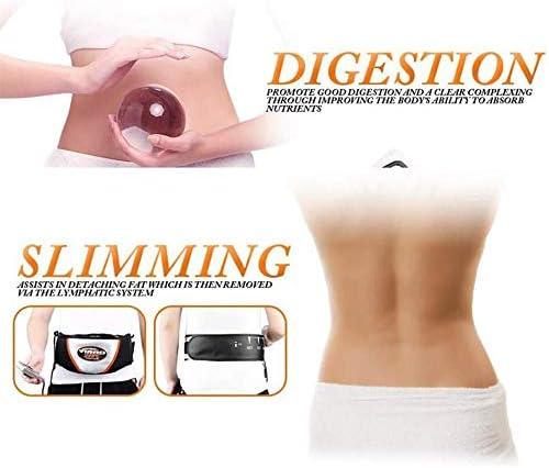 Copper Elektrische Heizung Schlankheitsgürtel Vibration Schlankheit Hautstraffung Elektrische Fitness Vibration zur Gewichtsreduktion Detox für Männer und Frauen