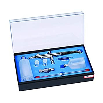 Royalmax Multi-Purpose Model AB-131 Airbrush Kit 0.3 mm Nozzle Dual-Action Gravity Feed Airbrush with a 2//3 oz Cup and a 4//3 oz Cup
