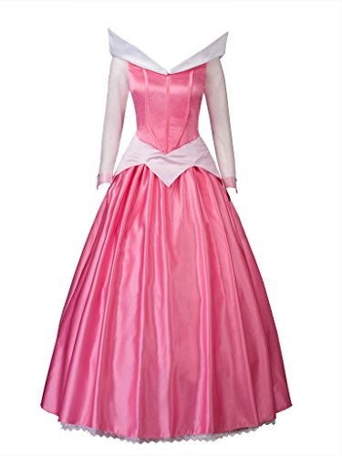 CosFantasy Princess Aurora Cosplay Costume Ball Gown Dress mp002020 (Women XS) -