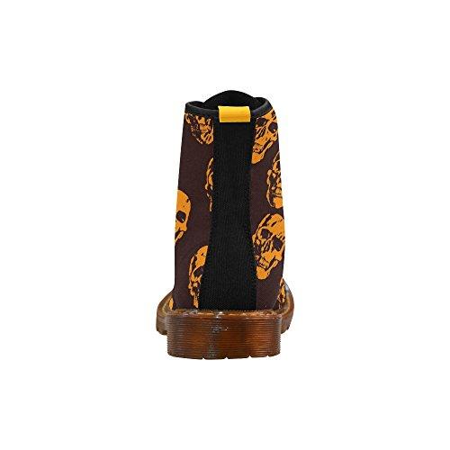 Leinterest Hete Schedels, Oranje Martin Laarzen Modieuze Schoenen Voor Mannen