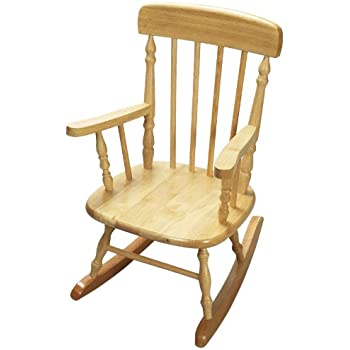 Amazon Com Gift Mark Child S Colonial Rocking Chair