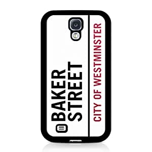 Baker Street Sherlock Samsung Galaxy S4 Case Negro
