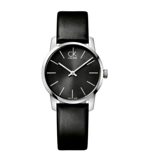 Calvin Klein ck City Leather Ladies Watch K2G23107