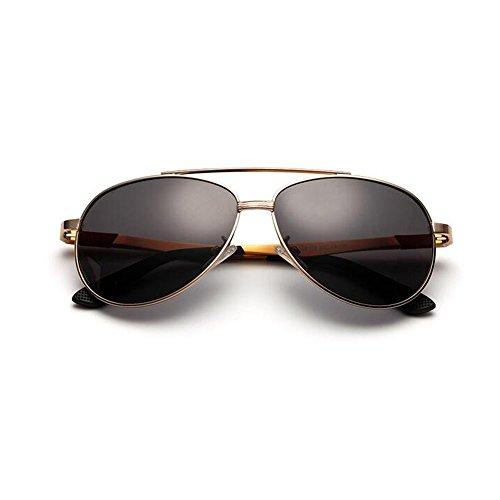 Vidrios Reflejante Hombre Sol Magnesio YQQ De Aluminio De Deporte Anti Conducción Color HD Anti Aviación Gafas 4 De 1 Gafas UV para Gafas Polarizados De HApFqI