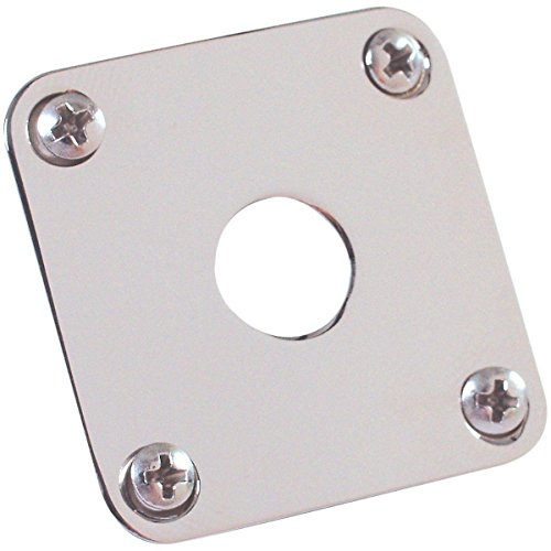 - Gibson Metal Jack Plates, Nickel