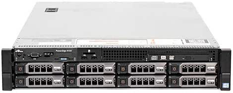 Dell PowerEdge R720 Server | 2X E5-2660 16 Cores | 64GB RAM | H710 | No Drives or Trays (Renewed)