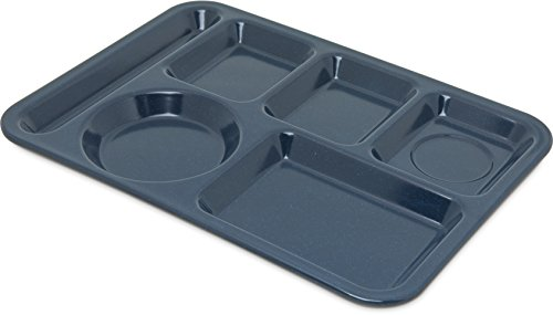 4398450 - Right Hand 4-Compartment Melamine Tray 10