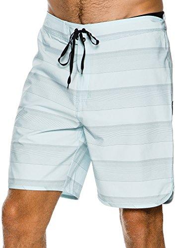 New Hurley Men's Phantom Strike Boardshort Fitted Spandex - Shorts Mens Swim Lycra