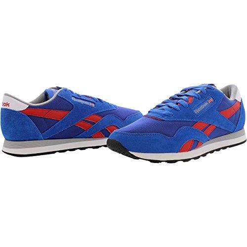 Reebok Mens Classic Nylon Retro Sneaker Blue OPiPqCY2Q
