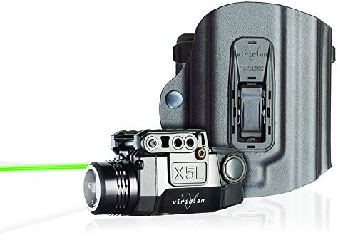 Viridian X5L Green Laser Sight and Tac Light
