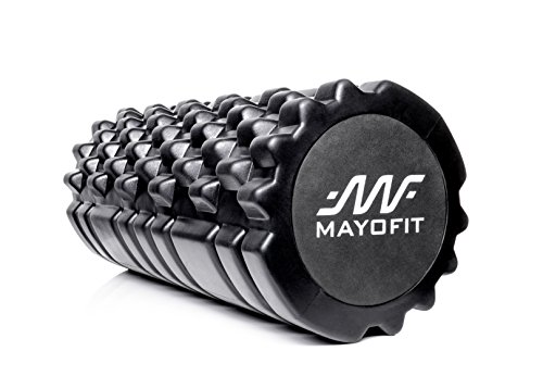 Mayofit 2 in 1 Foam Roller For Physical Therapy, Deep Tissue Massage...