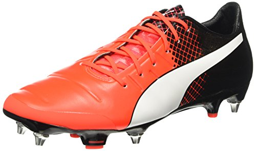 Mehrfarbig Homme Puma 1 Chaussures Football Rouge Evopower White Blast MX Black SG puma de 3 01 Red Compétition UvURqAw