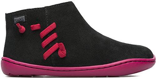 Camper Kids Girls' Peu Cami Ankle Boot, Black, 25 D EU Little Kid (9 US)