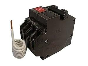 gfi breaker wiring amazon com general electric thqb2130gf 2 pole 30 amp