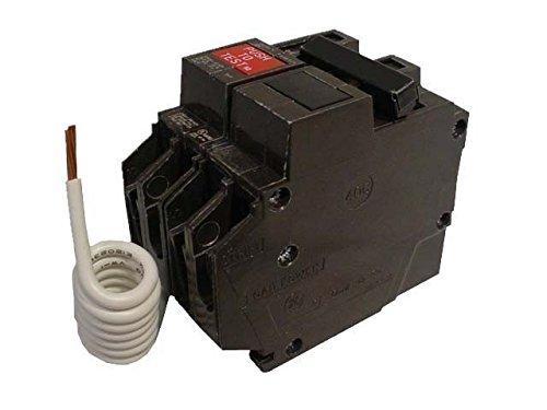 GE THQL2130GFT 30A 120/240V Self-Testing 2-Pole GFCI Plug-In Circuit Breaker by GE