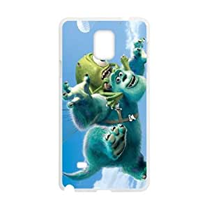 SamSung Galaxy Note4 phone cases White Monsters Inc cell phone cases Beautiful gifts TRIJ2785861