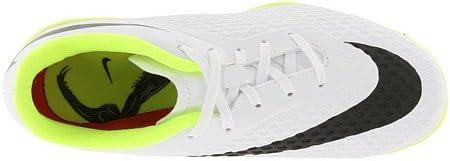 B00EI48L0K Nike Junior Hypervenom Phelon IC (White/Black/Volt) (2.5Y) 41Yxdf3gp6L