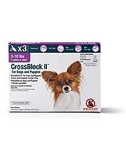 Vet One Crossblock II pulga preventivo para Perros 3-10lb. (3 Paquetes)