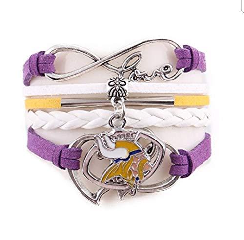(TheCreativeGene Love Minnesota Vikings Charm)