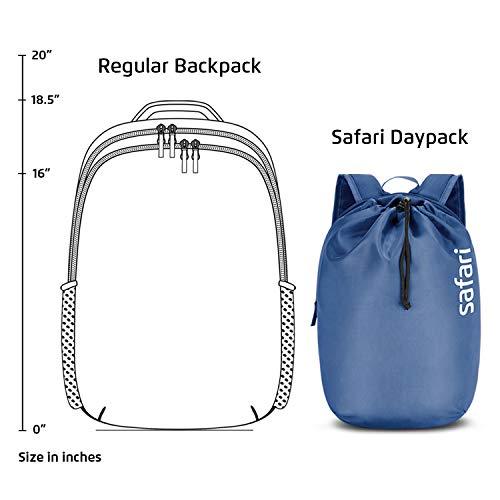 SAFARI 15 Ltrs Denim Blue Casual/School/College Backpack (DAYPACKNEO15CBDNB) 7