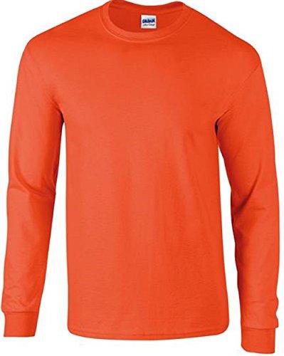 Absab Ltd Orange Sweat shirt Homme rqrawdIFvn