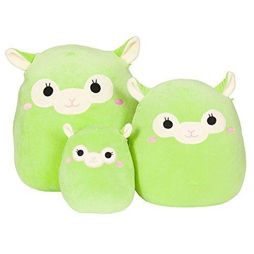 Squishmallow Kellytoy 5 Jim The Green Alpaca Super Soft Plush Toy Pillow Pet Pal Buddy