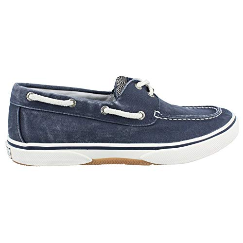 Sperry Top-Sider Men's Halyard 2-Eye Lace-Up,Navy/Honey,10.5 M -