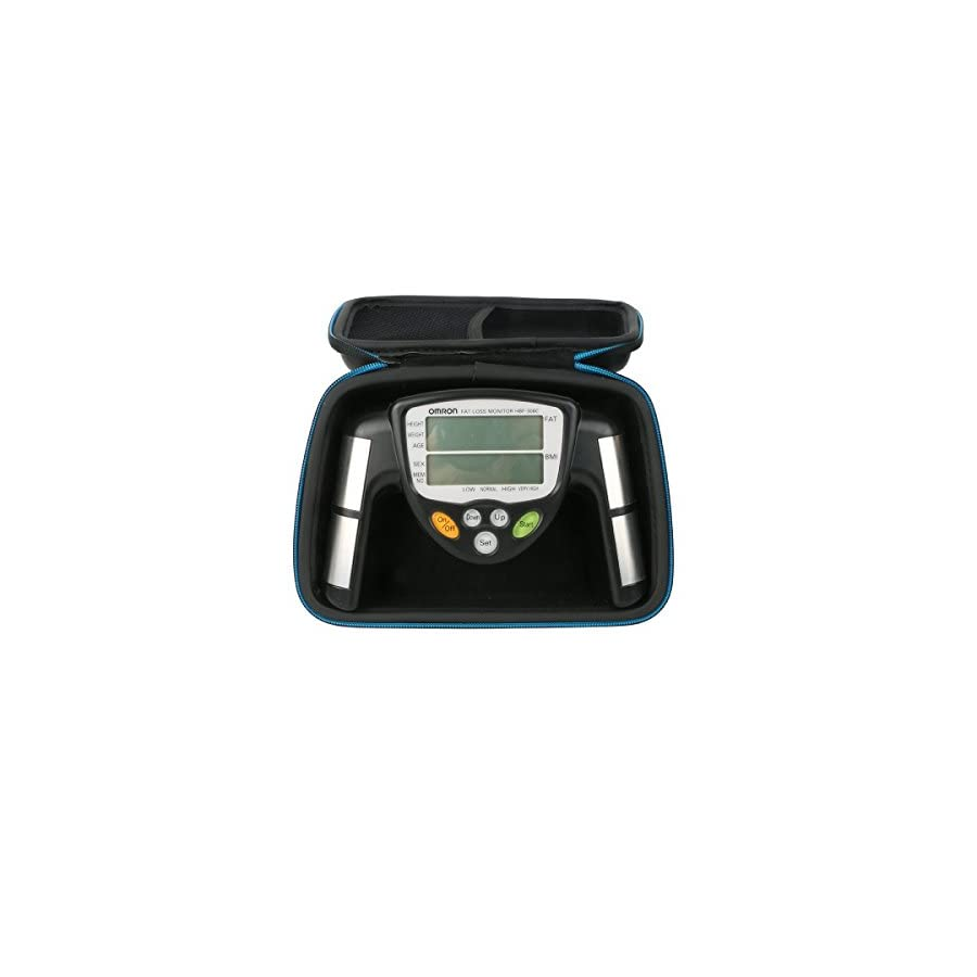 For Omron Fat Loss Monitor Body Fat Analyzer Hard Storage Case by Baval