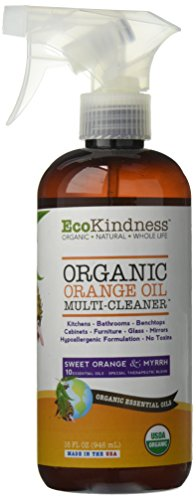 EcoKindness Organic Multi Cleaner Vibrant Orange Bright Effervescent Orange Oil, 9 Count (Pack of 9) by EcoKindness
