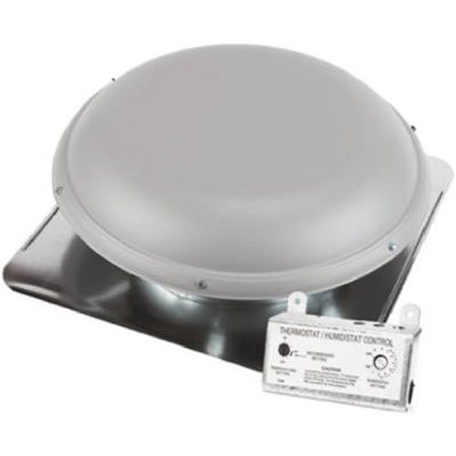 AIR VENT 53830 Roof Mounted Power Attic ()