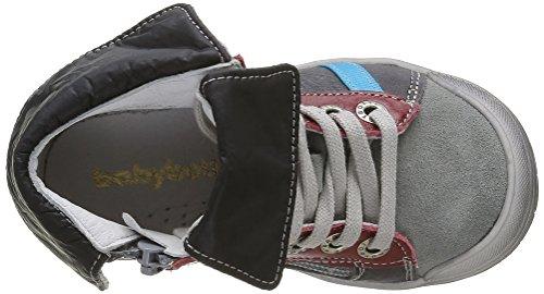 Babybotte Artigraff - Zapatillas para niños Gris (437 Gris)