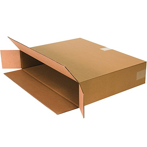 Boxes Fast BF24518FOL Side Loading Corrugated Cardboard Shipping Boxes - 24