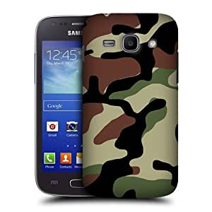 AIYAYA Samsung Case Designs Woodland Military Camo Protective Snap-on Hard Back Case Cover for Samsung Galaxy Ace 3 S7270 S7272 S7275