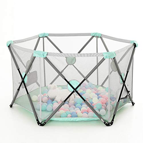 Baby Fence Playpens Household Shatter Resistant Toys Foldable Barrier Indoor Playground Protective Hearth Gate House Children's Safety Playards Crawling Mat