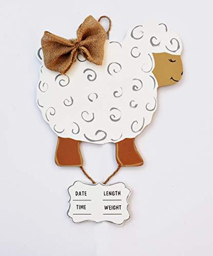 Infant hospital door hanger lamb ()