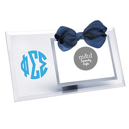 (Phi Sigma Sigma Picture Frame Glass)
